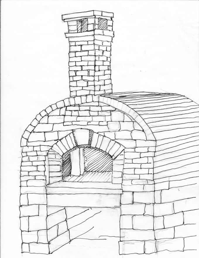 Community Wood Fired Bread Oven Project By Keith Romaine