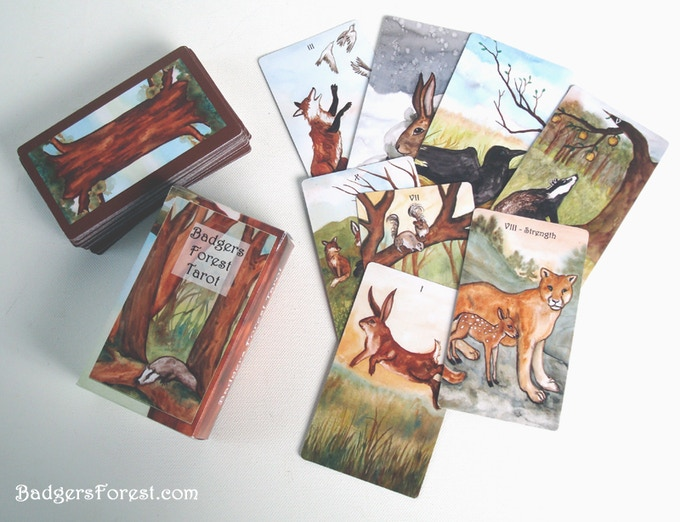 The Badgers Forest Tarot