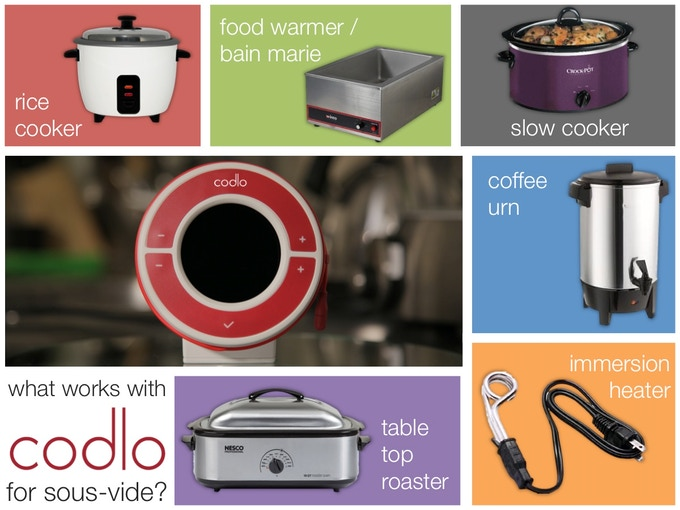 Codlo's pretty friendly - it works with a range of appliances that you may already have. If not, do get The Full Monty package for a rice cooker to be included too!