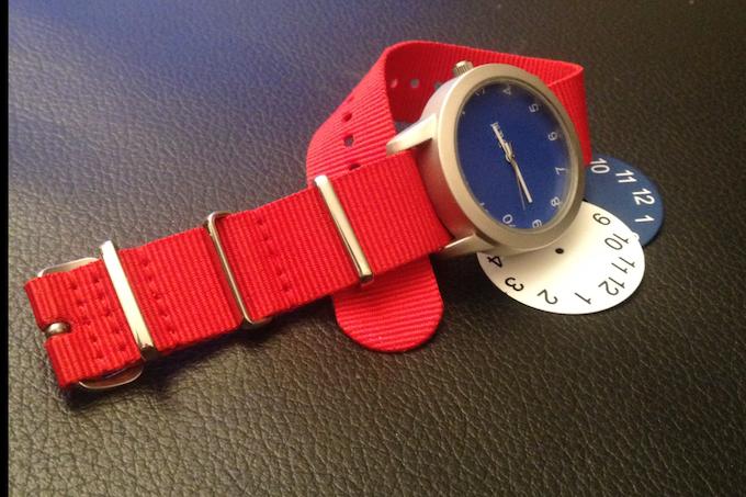 Fall 2013 Watch Prototype