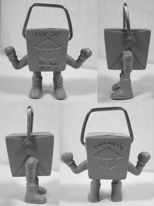 Sculpt has already begun on the 14th figure Chop Suey!!!!