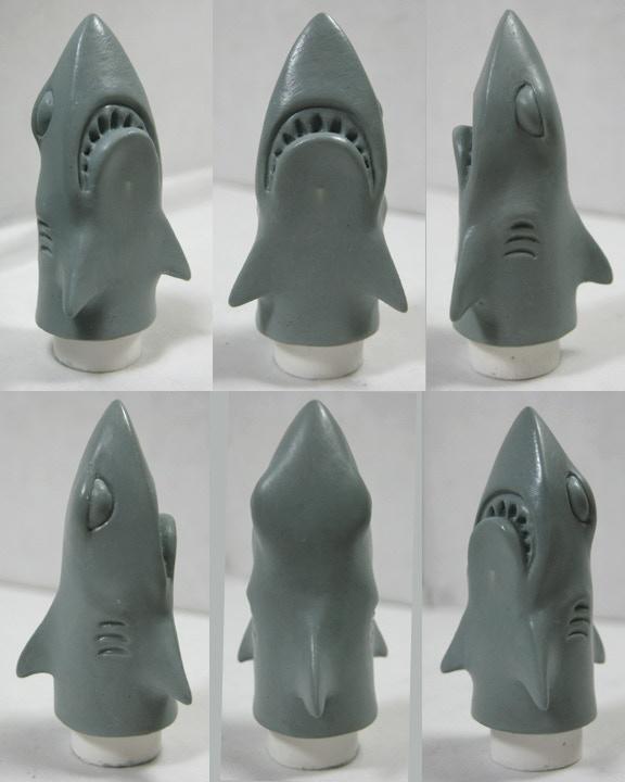 Final SUCK SHARK sculpt by George Gaspar