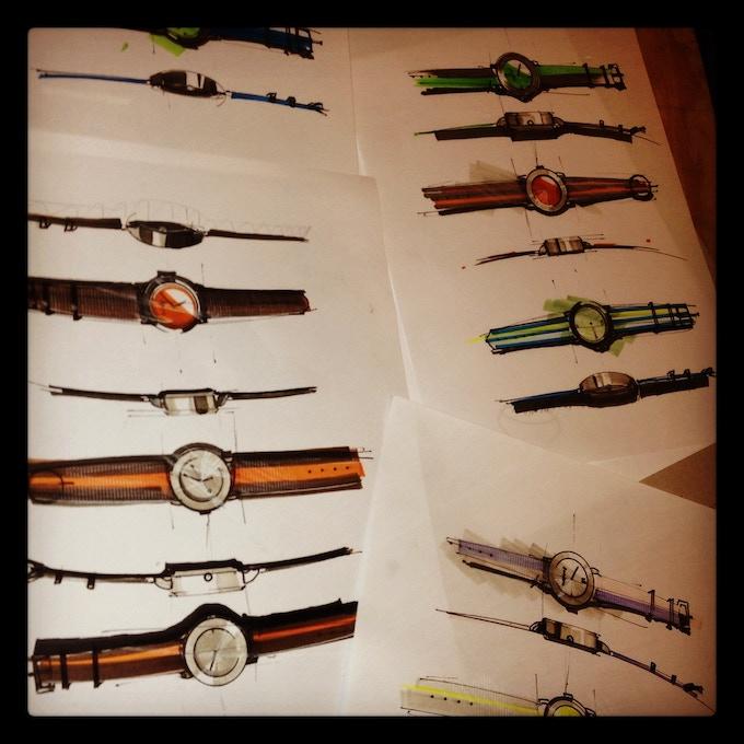 Watch Design Mockups