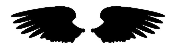 Wings rough design silhouette  (UNLOCKED!!!)