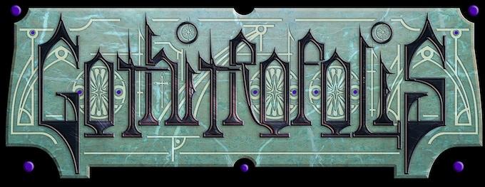 Gothitropolis Logo Sticker