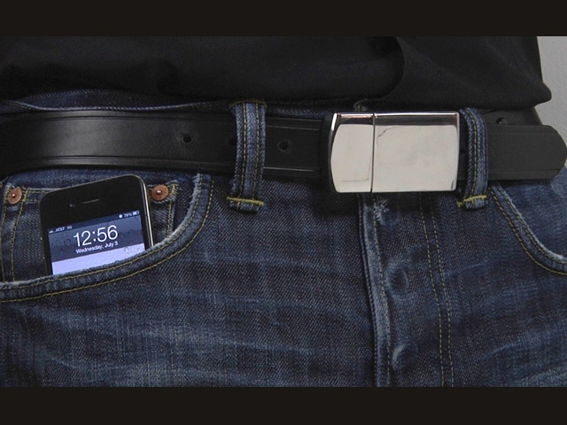Stainless Steel Belt Buckle Charger™