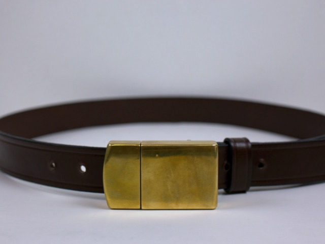 Brass Belt Buckle Charger™ (100% pure brass Buckle Charger™)