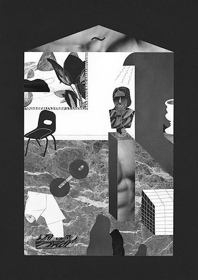 Colin David Stewart risograph print