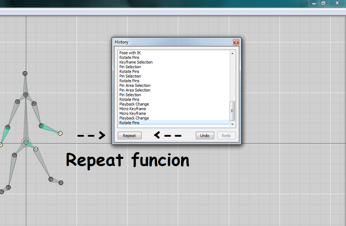 Repeat function example