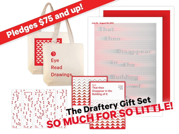 The Draftery Gift Set - includes an Exhibition Poster + everything above! (click image to see poster detail)