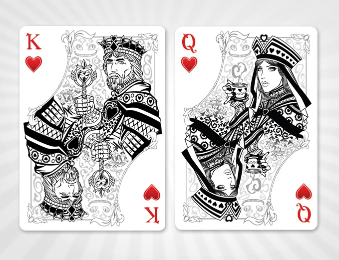 King and Queen of Hearts - SILVER EDITION