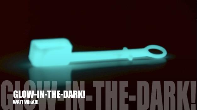 Glow in the dark, neat!