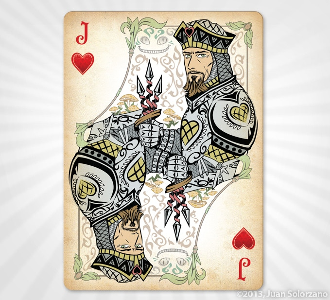 Jack of Hearts - GOLD EDITION