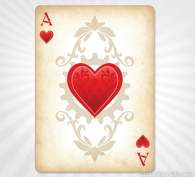 Ace of Hearts - GOLD EDITION