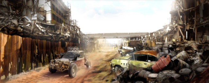 Ruin City - concept by Maxx Kaufman