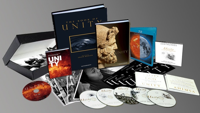 A sample of UNITY Kickstarter rewards.