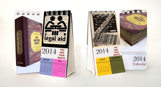 You and Your Rights - 2014 Calendar