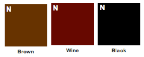 Here are the colors that you can choose from for the interior.