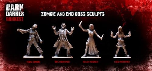 "The zombie ""stench"", Dr. Mortimer, Helen Kronen, and Lisa Mortimer"