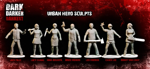 A weapons dealer, college geek, nurse, bodyguard, firefighter, martial arts tennis pro and psycho cheerleader