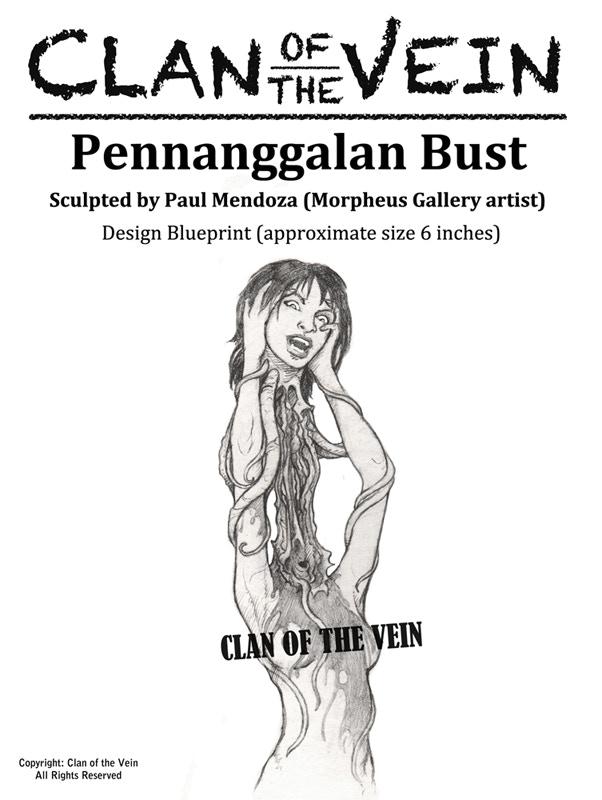 The Pennangallan bust
