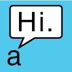 "The Sticker: Little ""a"" is so friendly."