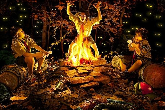 scary campfire story