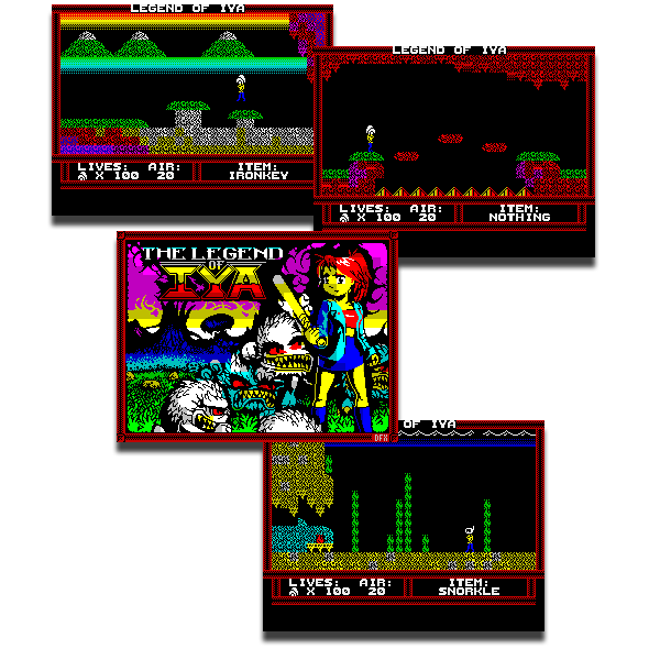 Like all five of the original ZX Spectrum Legend of Iya episodes