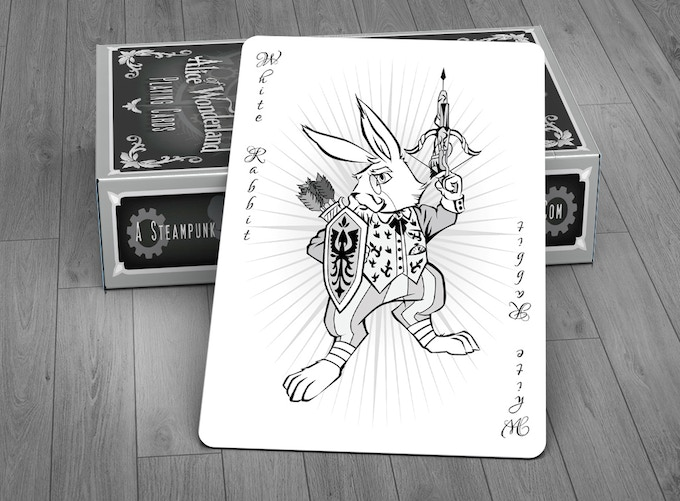 The White Rabbit Joker Card - SILVER EDITION