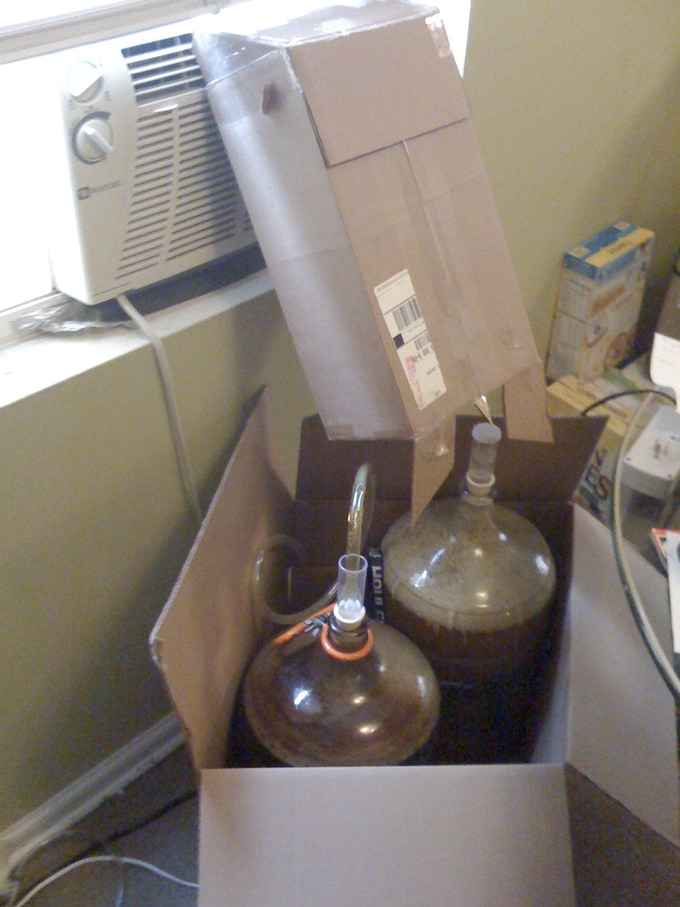 Not the best way to ferment a beer...