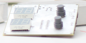 Raw electronic board