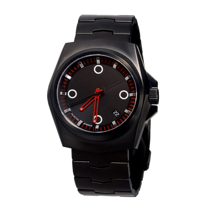 The Tessera in PVD satin black (black dial is standard color)