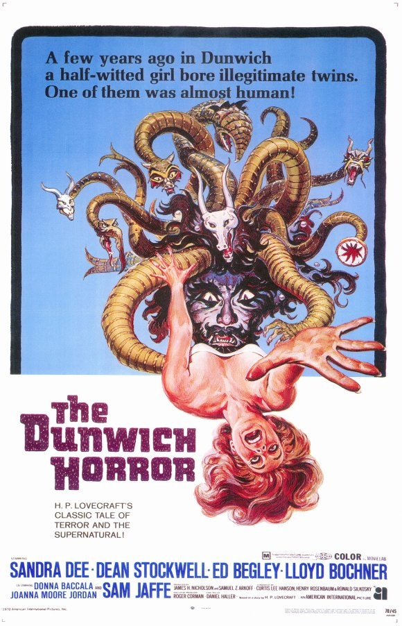 Dunwich Horror official marquee poster only for Azathoth level donors (movie not being played this year)