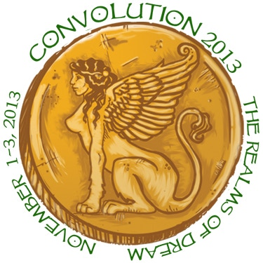 An artistic representation of our Convolution 2013 stickers
