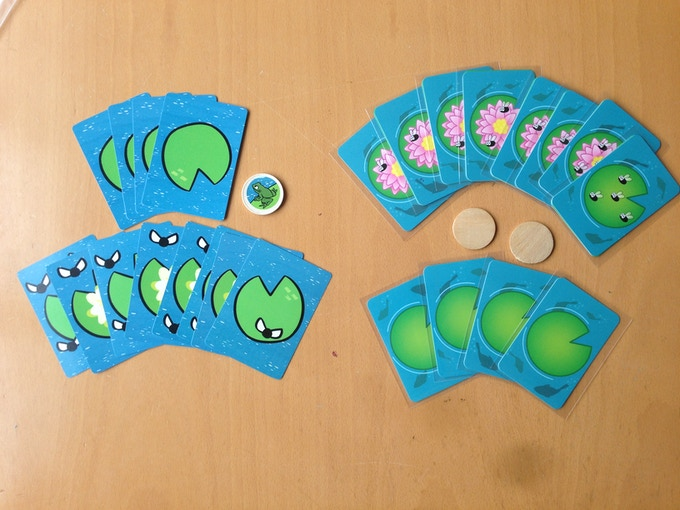 Original version on the left, Sprocket Games prototype on the right! Remember, final versions will come with the disc laser etched with the Frog from the FrogFlip logo!