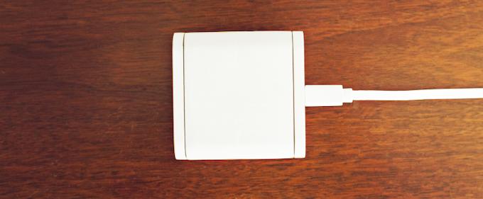 Micro USB charging