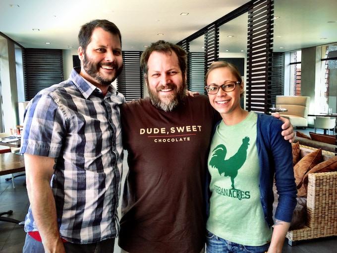 Dallas Celebrity Chefs Chad Houser, Graham Dodds, & Nicole Gossling