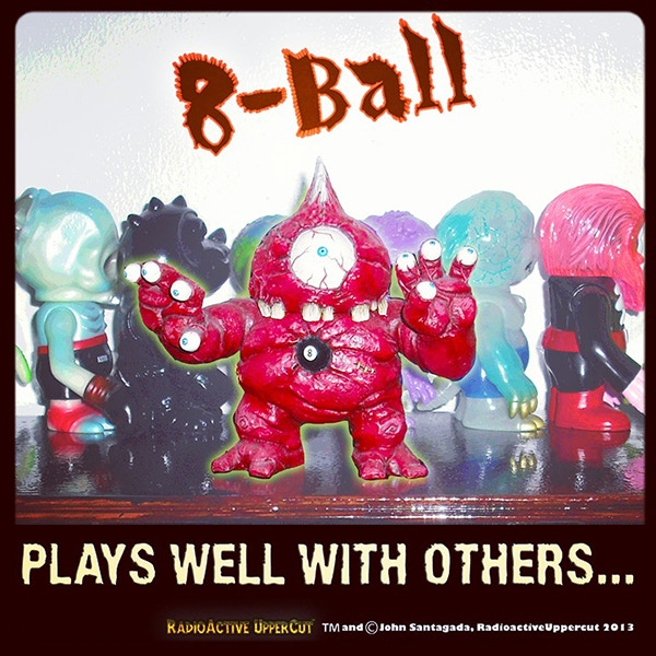Looks perfect next to your fight scale kaiju figures and 80's Madballs head poppers!
