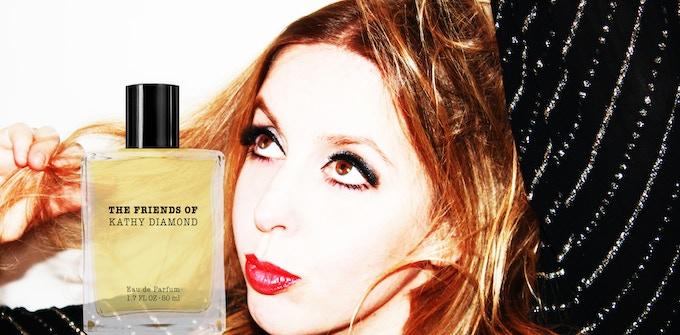For the friends of Kathy Diamond · Eau de Parfum!
