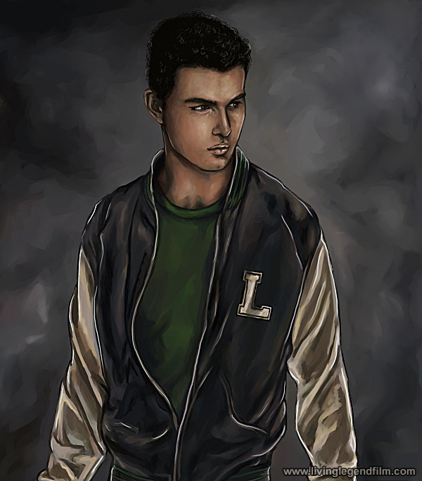 Lou - Mark's brother -- Concept Art