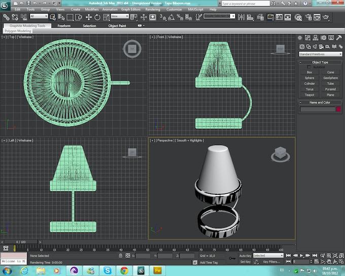 3D NippyLid Cad