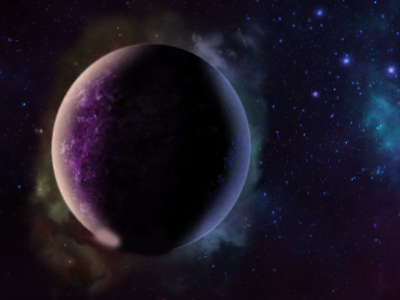 One of the many planets you'll find as you explore the universe.