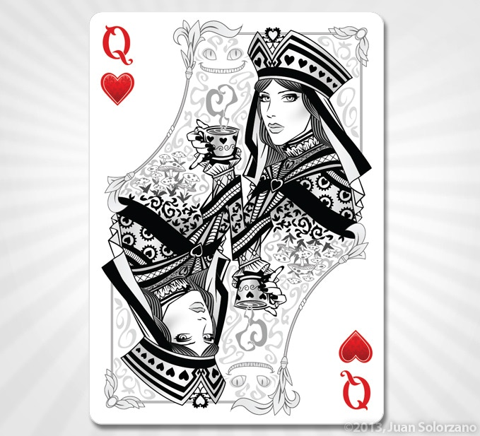 Queen of Hearts - SILVER EDITION