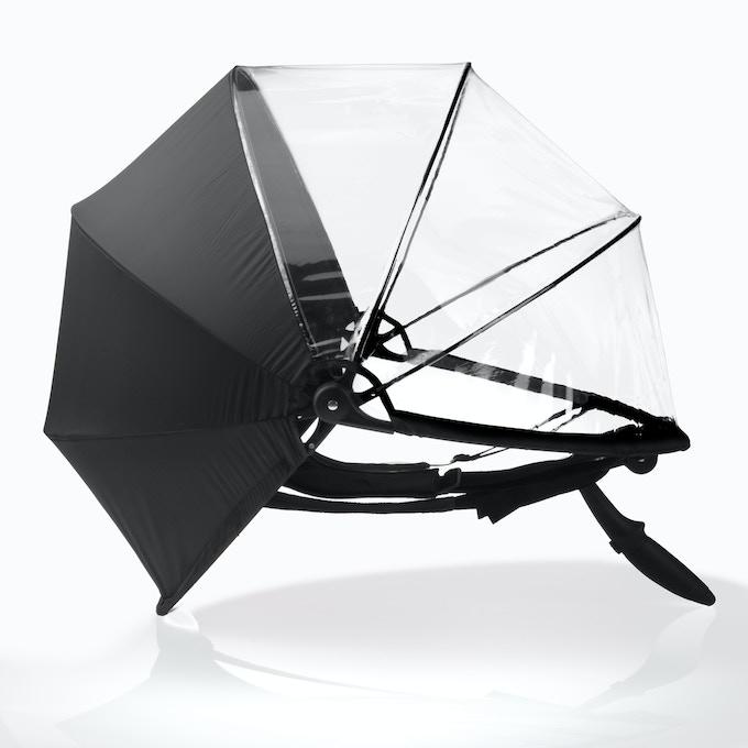 Nubrella Storm with rear fabric