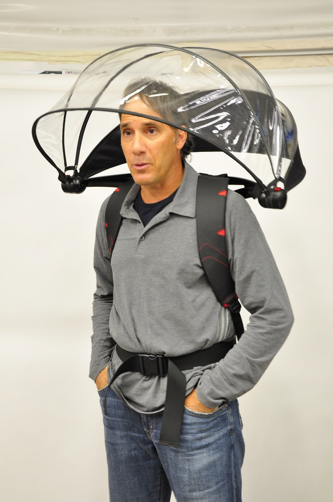 New Nubrella Standard  -- backpack worn design.