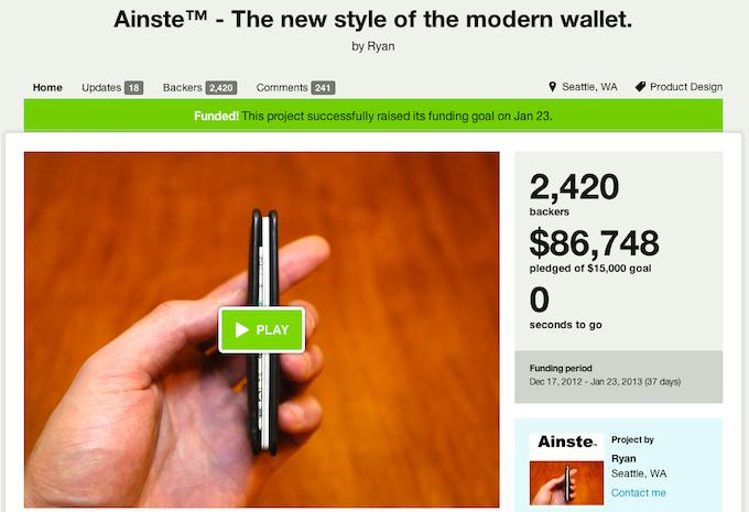 Ainste Front Pocket RFID Blocking Wallets