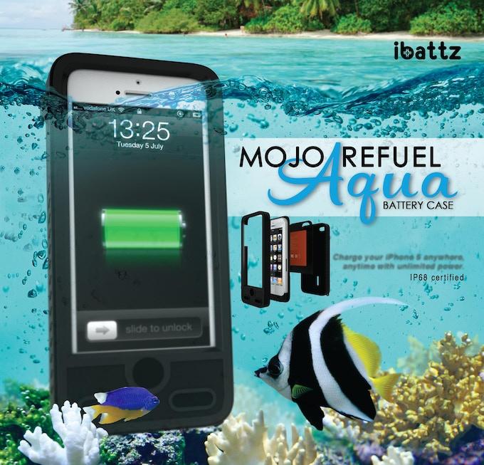 Waterproof Removable Battery Case Ibattz Mojo Refuel
