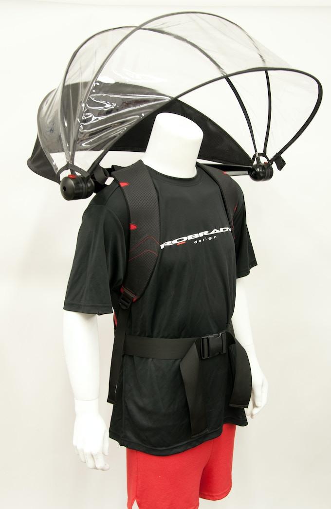 Nubrella Sport prototype only not actual size