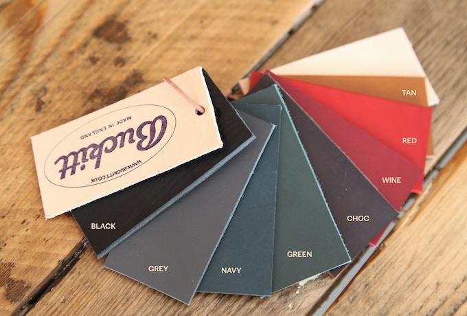 Buckitt leather colour options