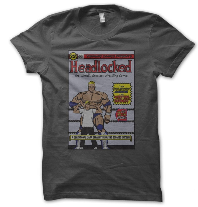 Headlocked Retro T-Shirt. Just one of the rewards you can earn!